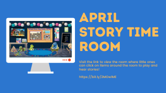Virtual Story Time Room: April!