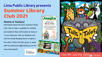 Summer Library Club 2021: TAILS & TALES