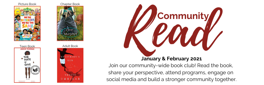 Community Read January & February 2021