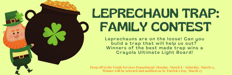 Leprechaun Trap: Family Contest